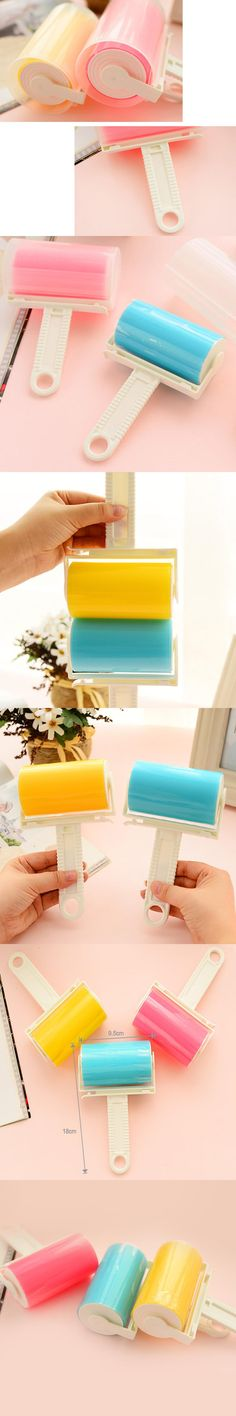 Dust Cleaner Roller Pet Hair Remover Fluff Whisking Tools for Dust Cleaning