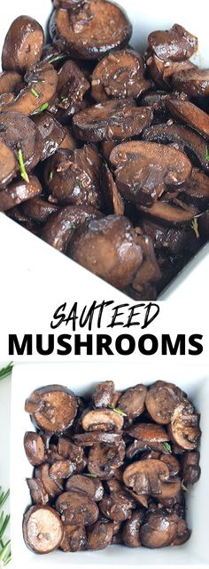 Factors You Need To Give Thought To When Selecting A Saucepan Sauted Mushrooms With Garlic, Rosemary, And Wine. So Easy And Delicious Side Dishes Easy, Vegetable Side Dishes, Vegetable Recipes, Clean Eating Recipes For Dinner, Easy Dinner Recipes, Dinner Ideas, Vegetarian Breakfast Recipes, Healthy Recipes, Slow Cooker Balsamic Chicken