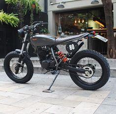 Xt 600 Scrambler, Honda Scrambler, Cafe Racer Motorcycle, Cafe Bike, Cafe Racer Bikes, Classic Motors, Classic Bikes, Custom Motorcycles, Custom Bikes