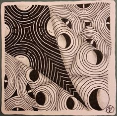 Tina Creates Art - Tangles and More: Zentangle for peace