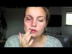 Skinny/Starving Zombie Halloween Makeup tutorial | Make Up Videos 4 U