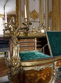 Versailles - Le bureau de Louis XV