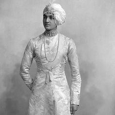 How handsome, chic and elegant  was the Maharajah Jitendra Narayan of Cooch Behar. ca. 1882?  #fashionicon #benarasi #indianprince  #royalty #fashionable #fashioninspiration
