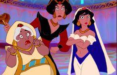 Genderbent Aladin Characters