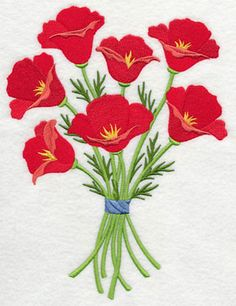 Just through this weekend ending Sunday April 5, 2015, Four lovely flower designs in four sizes each for free! Go to http://www.emblibrary.com/el/free.aspx to see and download them.