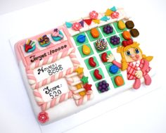 candy crush cake | ... cake) Chocolate flavored Candy Crush themed Mango cake » Le Bijou de