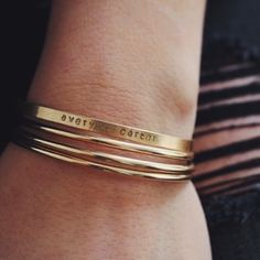 • IDENTITY INSPIRATION CUFF - $48 • [one plate of food donated for every piece of jewelry sold] •