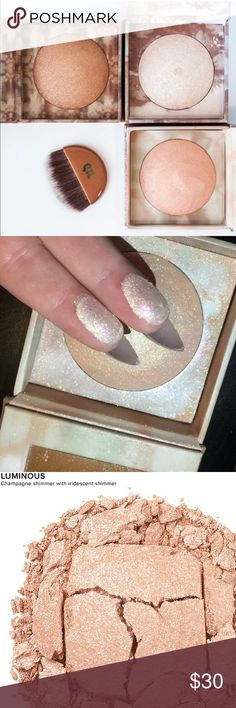 🌟🌟UD Naked Illuminated Highlight!🌟🌟 Brand New and Authentic as always! 💯💯 This is a beautiful highlight by Urban Decay! I ❤ the iridescent shimmer!! Great for ALL skin tones 😍😍 Gifts with Purchase!! Bundle and SAVE!! 🎉😘🌟 This listing is for 1 highlight as described above. The first image is for advertisement purposes only. Also this is brand new - never touched. The swatched image above us not from this highlight. Urban Decay Makeup Luminizer