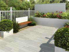A beautiful sawn sandstone paving that portrays a superior feel of quality and creates an individual look to your patio. Planks can also be used to achieve a lengthening or widening affect where space is at a premium. Garden Slabs, Garden Paving, Terrace Garden, Sandstone Paving, Paving Slabs, Paving Stones, Stone Landscaping, Front Yard Landscaping, Small Patio Spaces