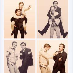 Ryan Gosling & Steve Carrell