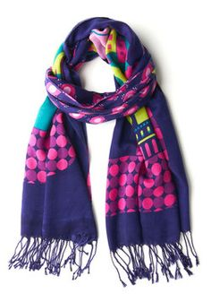 Town and Comfy Scarf, #ModCloth