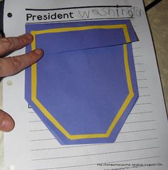 Presidential Pockets from All things Beautiful
