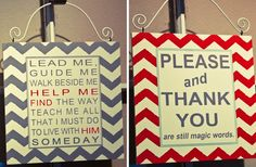 8x8 Wooden Chevron Hanging Signs 31% off at Groopdealz