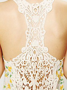 Crochet back tops <3