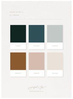Color Palette For Home, House Color Palettes, Colour Pallette, Paint Colors For Home, Colour Schemes, Color Combos, House Colors, Modern Color Palette, Interior Color Schemes