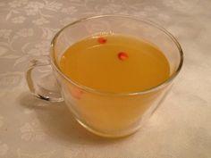 Green tea with sea-buckthorn berries
