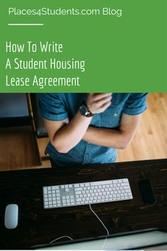 Need help writing a student housing lease agreement? Check out our lease template here! #studenthousing #lease