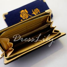 Stunning Horsehair and Floral Print Design Women's Clutch Wallet