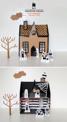 Mer Mag   DIY Haunted House