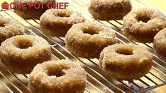 NEW VIDEO: Oven Baked Cinnamon Donuts! Watch the full recipe video here: http://youtu.be/OMFisdjq_lo