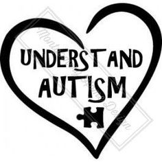 Understand Autism Decal by MontgomeryHomeDesign on Etsy