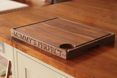 These Walnut Carving Boards give a personal touch to those special occasions.   http://www.norfolkoak.com/gifts/walnut-carving-boards.php#