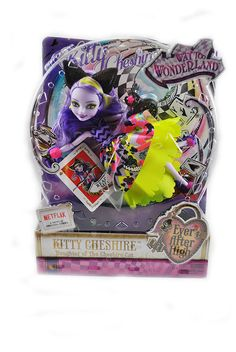 Ever After High Way Too Wonderland Kitty Cheshire Doll