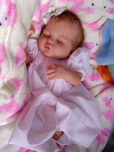 Adorable Reborn Baby art doll girl Makayla was Esmee by Didy Jacobsen So cuddly | eBay