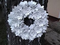uDanky / Shabby veniec Burlap Wreath, Hanukkah, Shabby, Wreaths, Halloween, Home Decor, Decoration Home, Door Wreaths, Room Decor