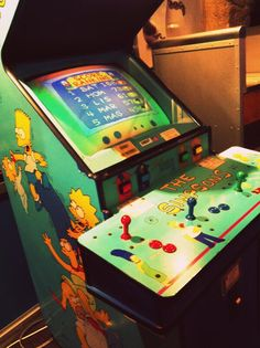 I loved the simpsons arcade game