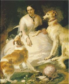 """Lady Emily Peel and her minions"", 1857 Sir Edwin Landseer"