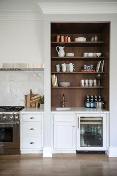 Tartan Builder's kitchen - Park and Oak Interior Design