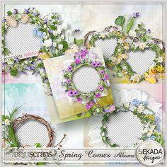 Spring Comes Album :: Quickpages :: Memory Scraps