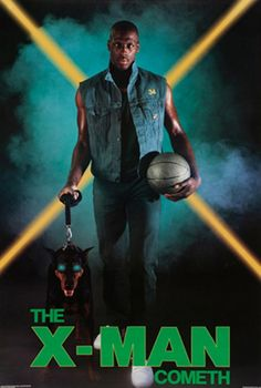 Xavier McDaniel /18 ultra-cool vintage NBA posters of the 80's