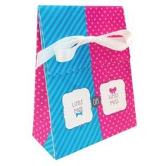 Bow Or Bowtie Favor Box w Ribbon