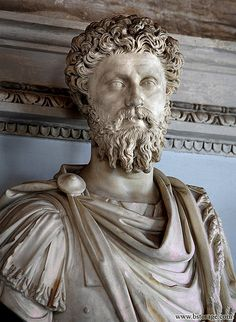 This statue of Marcus Aurelius is not as ornamental as some of the other examples of the Roman Imperial style, but it is still breathtaking. Marcus Aurelius. 2006. Photograph. Capitoline Museum, Rome. Flickr. Yahoo!, 7 Sept. 2006. Web. 27 Sept. 2011.