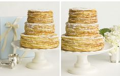 the PERFECT napoleon (mille-feuille) wedding cake