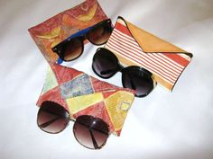 Sewing Pattern: Sunglasses pouch