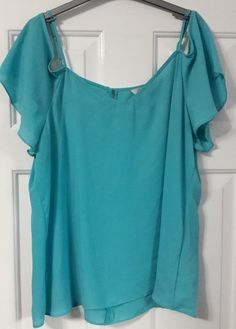 Ladies top size 18 PEACOCKS #fashion #clothes #shoes #accessories #womensclothing #topsshirts (ebay link) Bell Sleeves, Bell Sleeve Top, Peacocks, Shoulder Sleeve, Fashion Clothes, 18th, Clothes For Women, Lady, Shirts