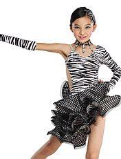 Performance Kids' Zebra Stripe Ruffle Crystal... – USD $ 99.99