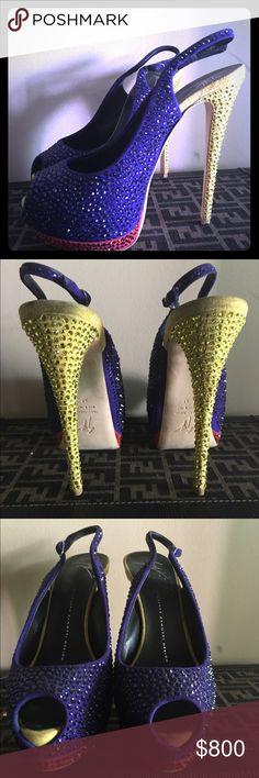 Guisseppe Zanotti open toe sandals All over crystals Giuseppe Zanotti Shoes Sandals