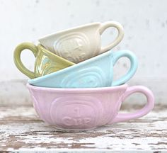 Set Of Four Botanical Measuring Cups - kitchen @notonthehighstreet.com I want these!