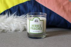 Herbes Fraiches #bougie #bougies #candle #candles #labellemeche blog de Mango and Salt