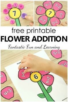 Flower Petal Addition Activity - Fantastic Fun & Learning