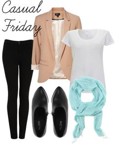 easy outfits: casual friday