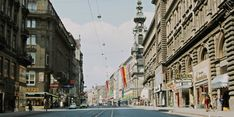 Old Pictures, Vienna, Austria, Street View, History, Vintage, Antique Photos, Historia, Old Photos