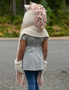 Ravelry: Unice Unicorn Hood pattern by Heidi May