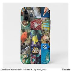 Coral Reef Marine Life: Fish and Animals Photos iPhone 11 Pro Case