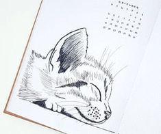 Bullet Journal 2020, Bullet Journal Inspo, Bullet Journal Layout, Bullet Journal Ideas Pages, Bullet Journal Inspiration Creative, Fuchs Illustration, Bullet Journel, Doodles, Cat Drawing