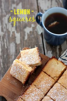 Lemon Squares | reci